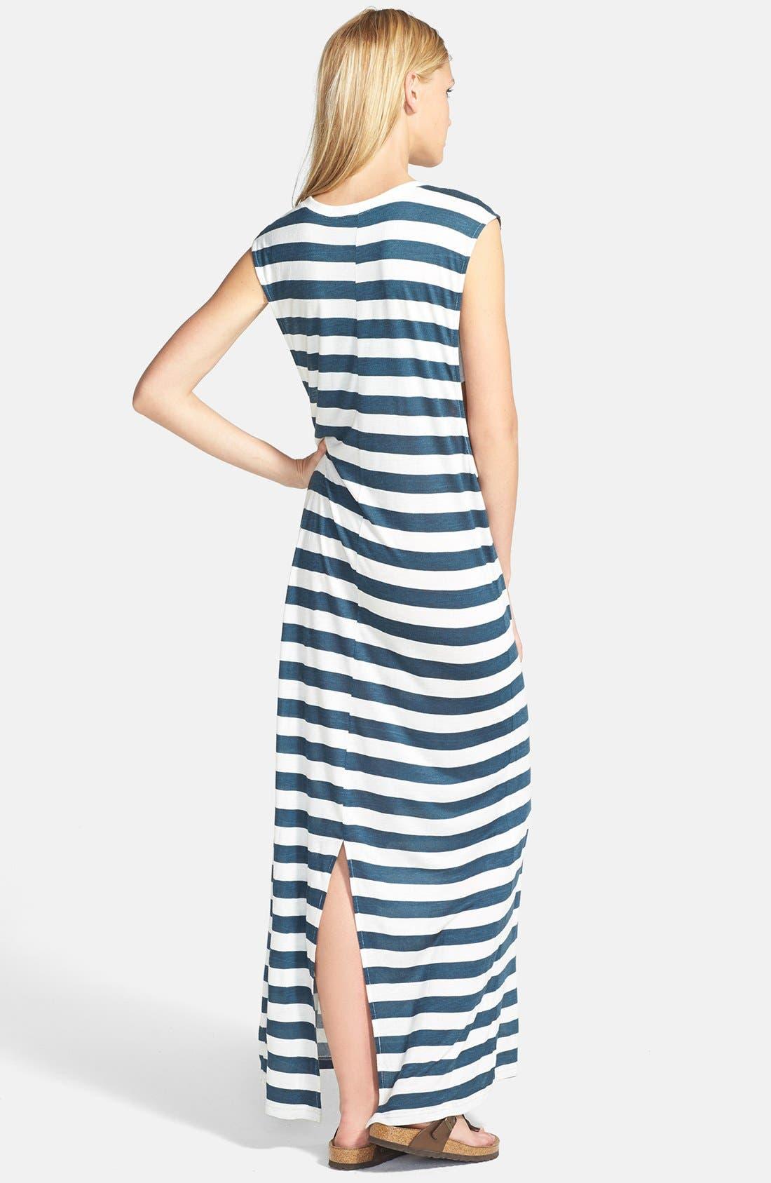 Alternate Image 2  - MINKPINK 'Wild Wild Life' Stripe Jersey Maxi Dress