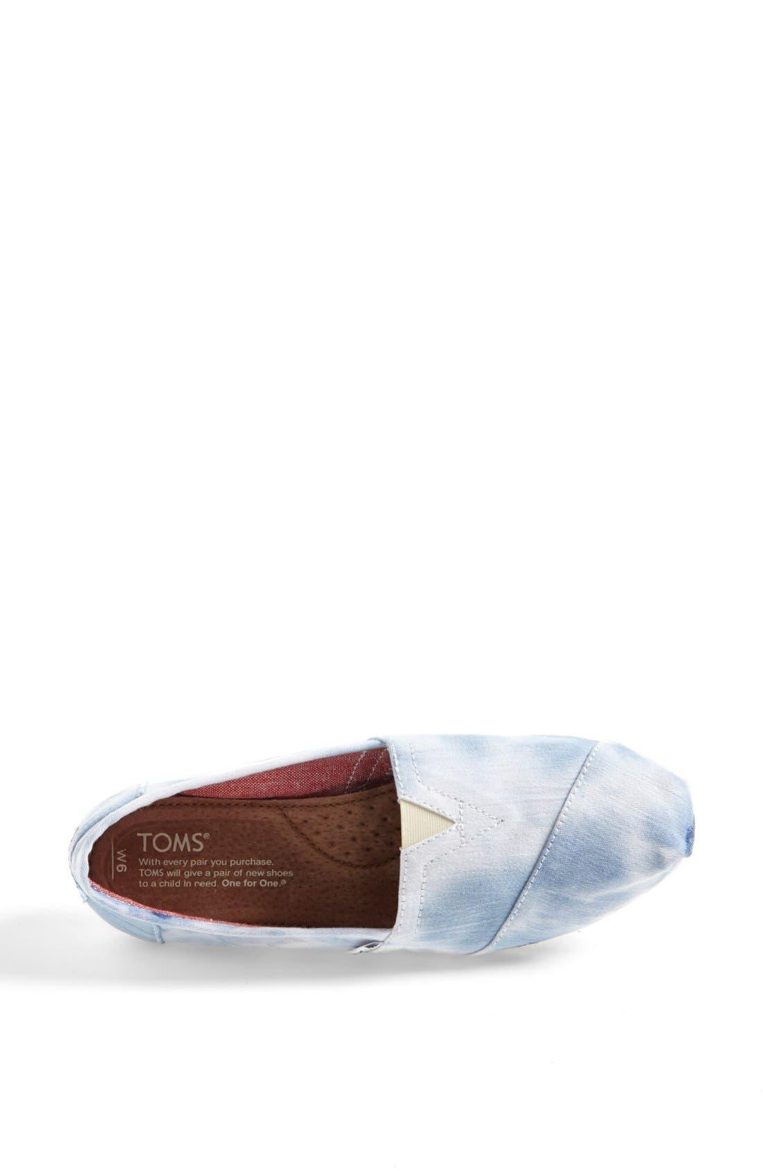 Alternate Image 3  - TOMS 'Classic - Tie Dye' Slip-On (Women)