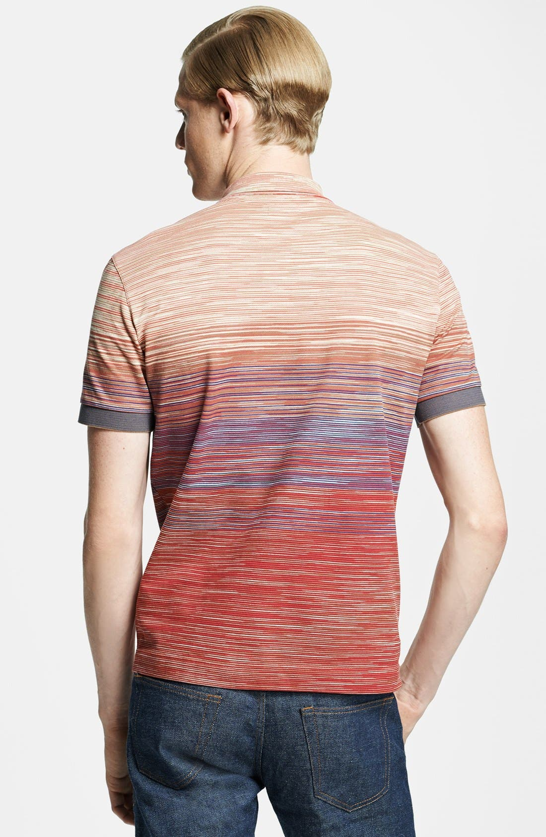 Alternate Image 2  - Missoni Space Dyed Jersey Polo
