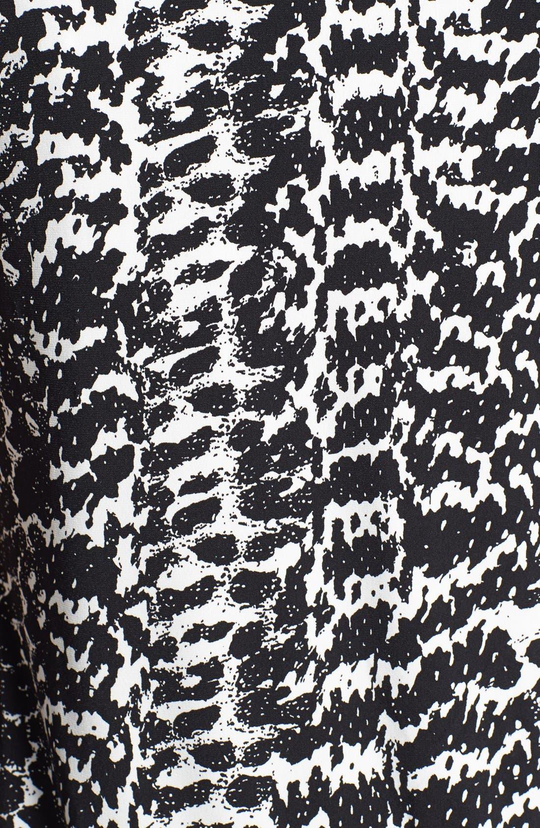 Alternate Image 3  - Vince Camuto 'Animal Tracks' Sleeveless Sheath Dress (Plus Size)