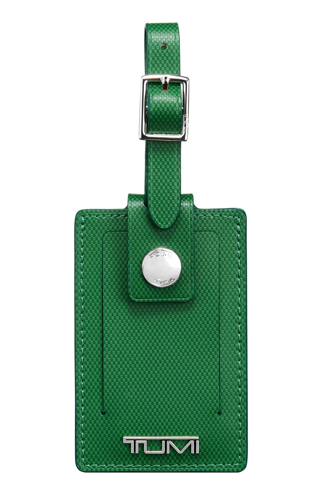 Alternate Image 1 Selected - Tumi Leather Luggage Tag