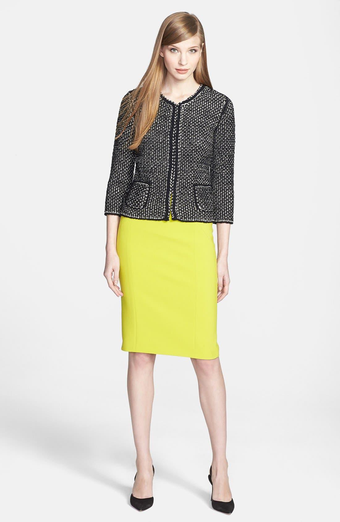 Alternate Image 3  - BOSS HUGO BOSS Cotton Blend Sweater Jacket
