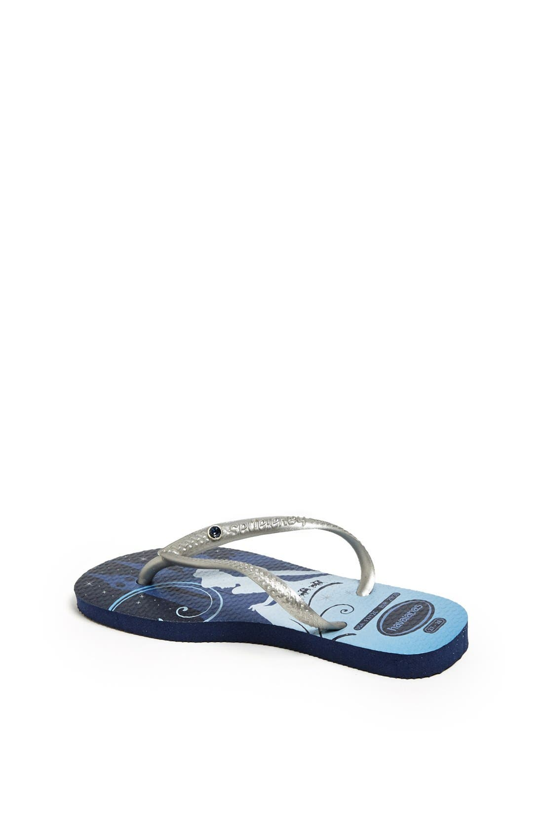 Alternate Image 2  - Havaianas 'Slim Princess Glam' Flip Flop (Toddler & Little Kid)