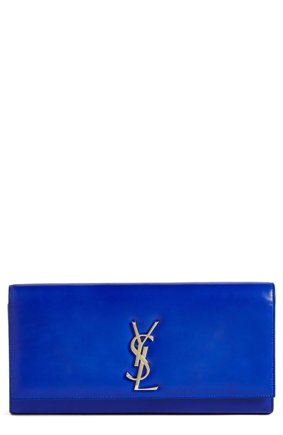 Main Image - Saint Laurent 'Cassandre' Leather Clutch