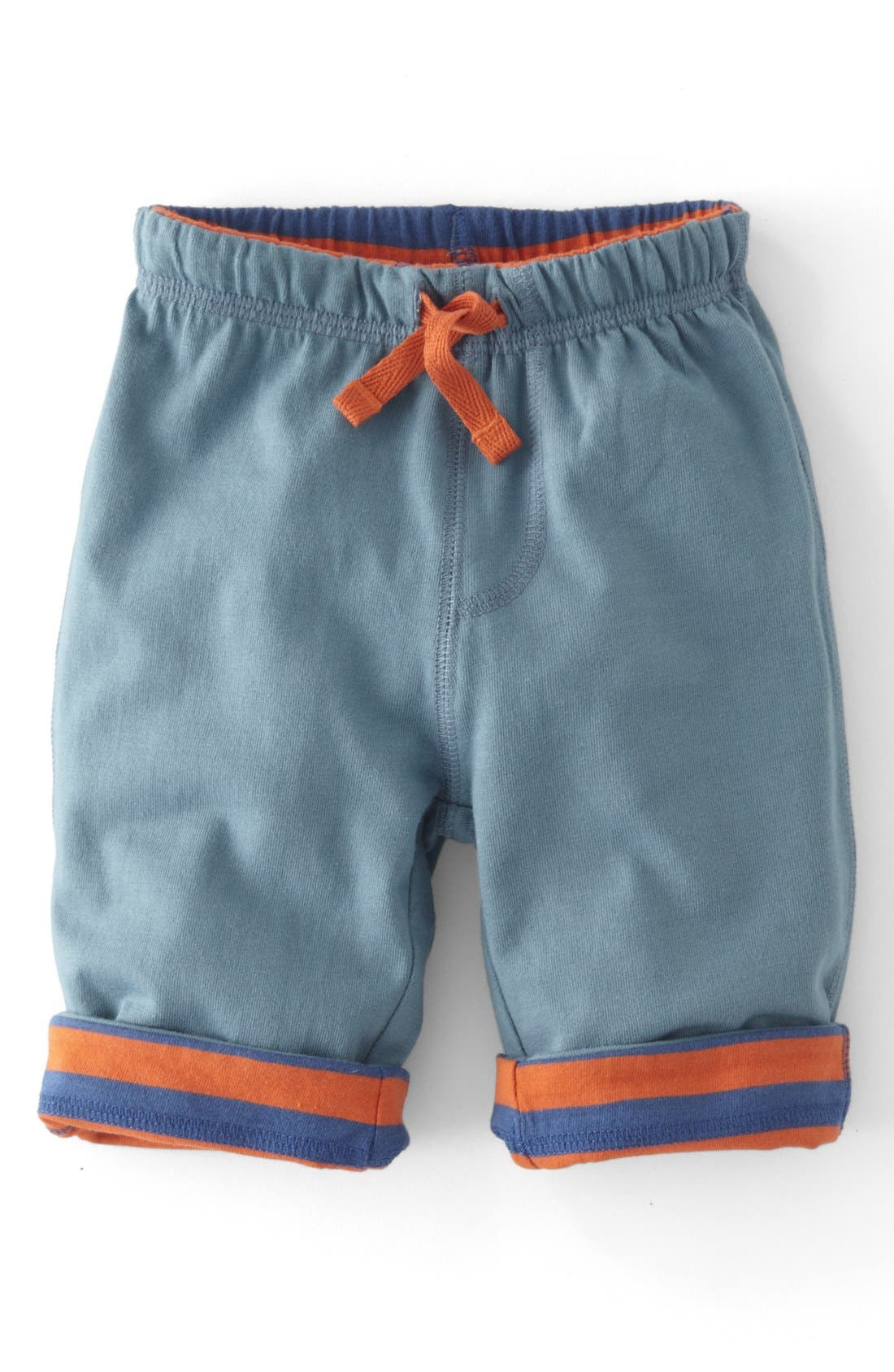 Alternate Image 1 Selected - Mini Boden Reversible Pants (Baby Boys)