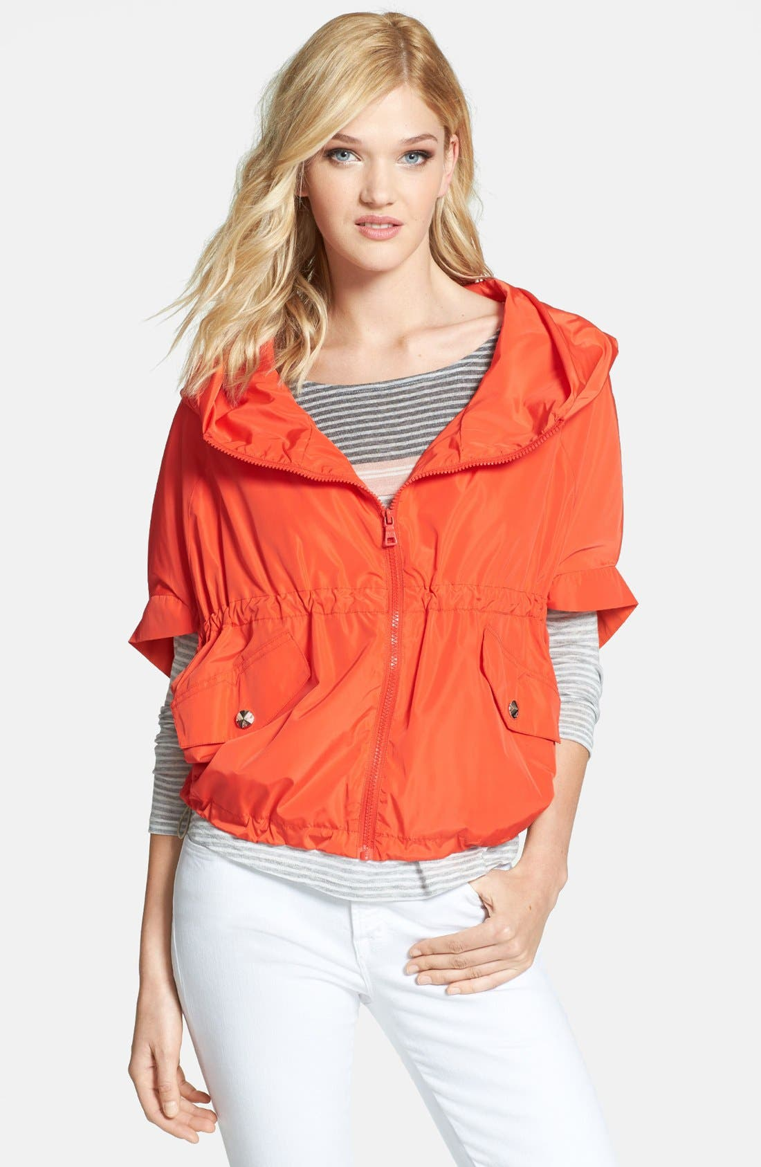 Alternate Image 1 Selected - Sam Edelman Packable Poncho Jacket