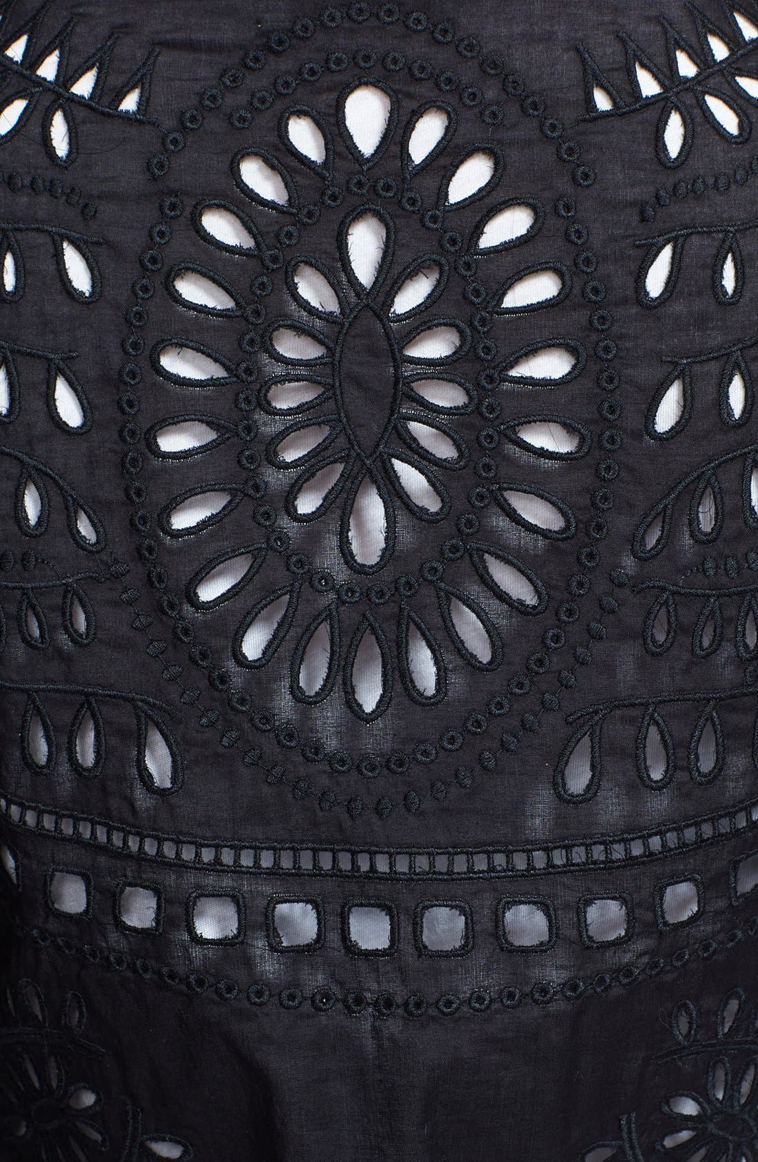 Alternate Image 3  - Loma 'Alex' Embroidered Linen & Cotton Cardigan