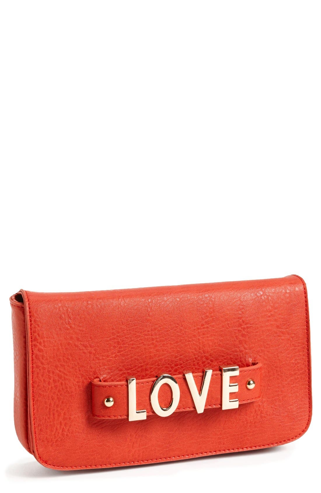 Main Image - Street Level Faux Leather Clutch