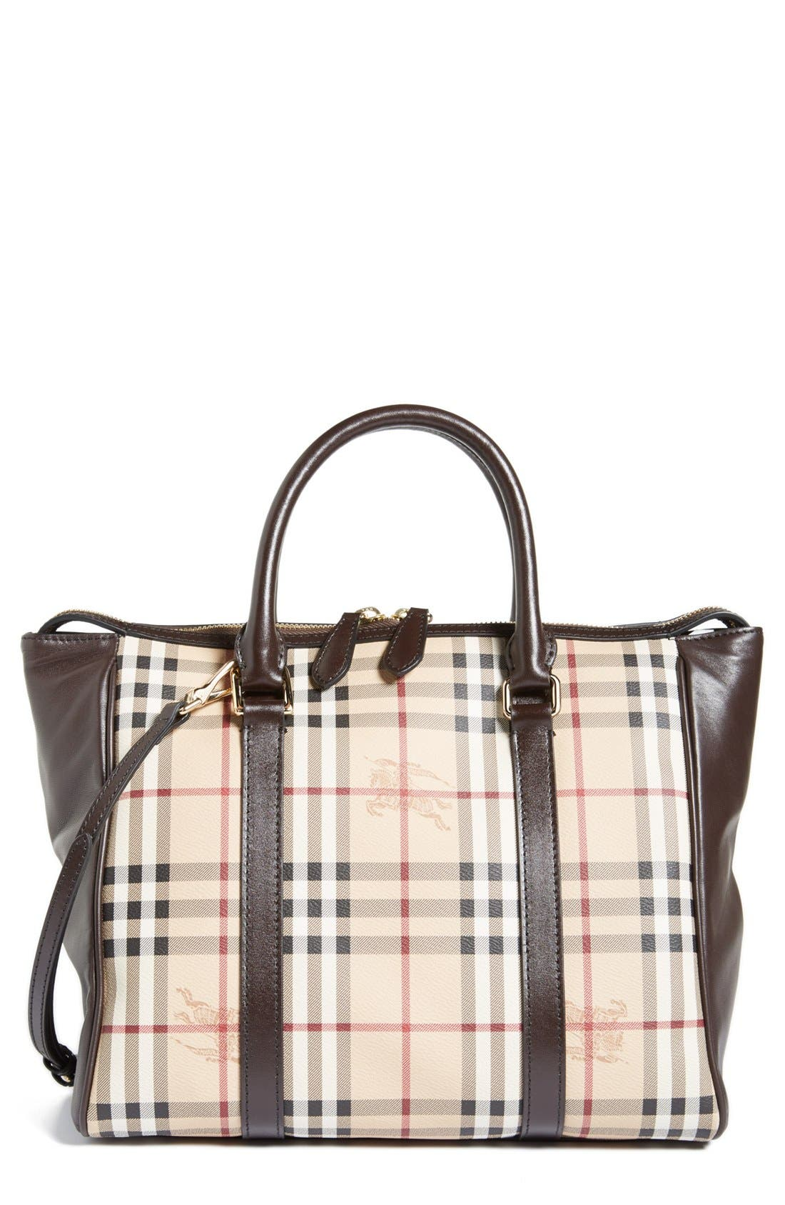 Alternate Image 1 Selected - Burberry 'Chattom' Crossbody Tote