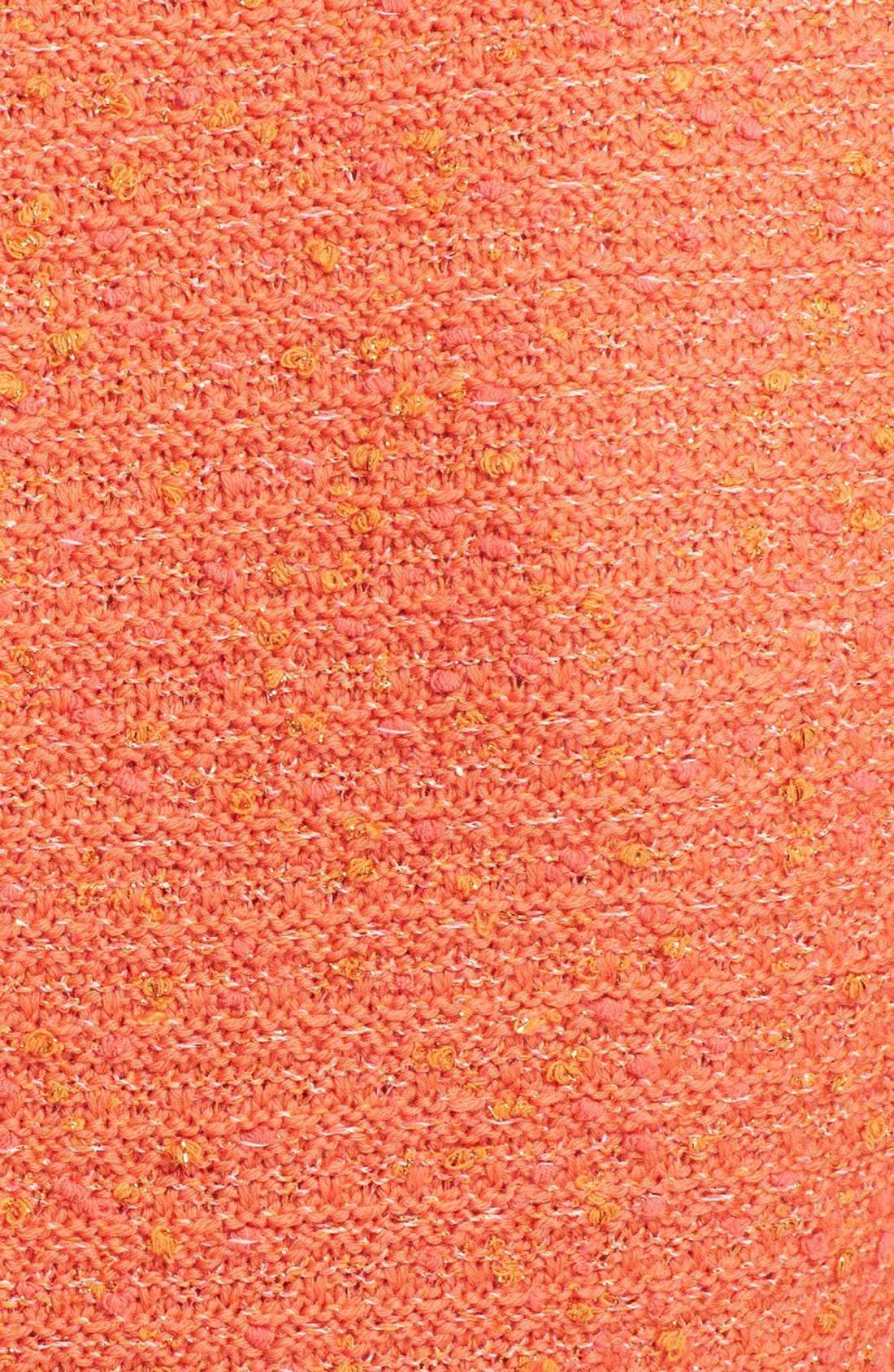 Alternate Image 5  - St. John Collection Flounce Hem Slub Knit Sheath Dress