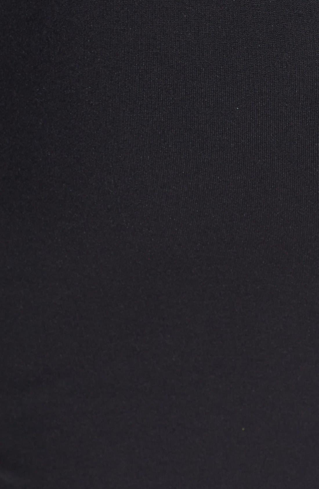Alternate Image 3  - Ted Baker London Leather Trim Pencil Skirt