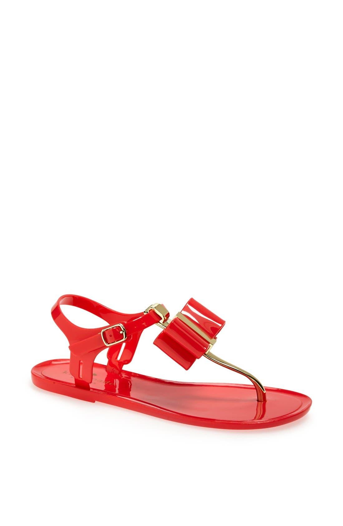 Alternate Image 1 Selected - kate spade new york 'filo' jelly sandal
