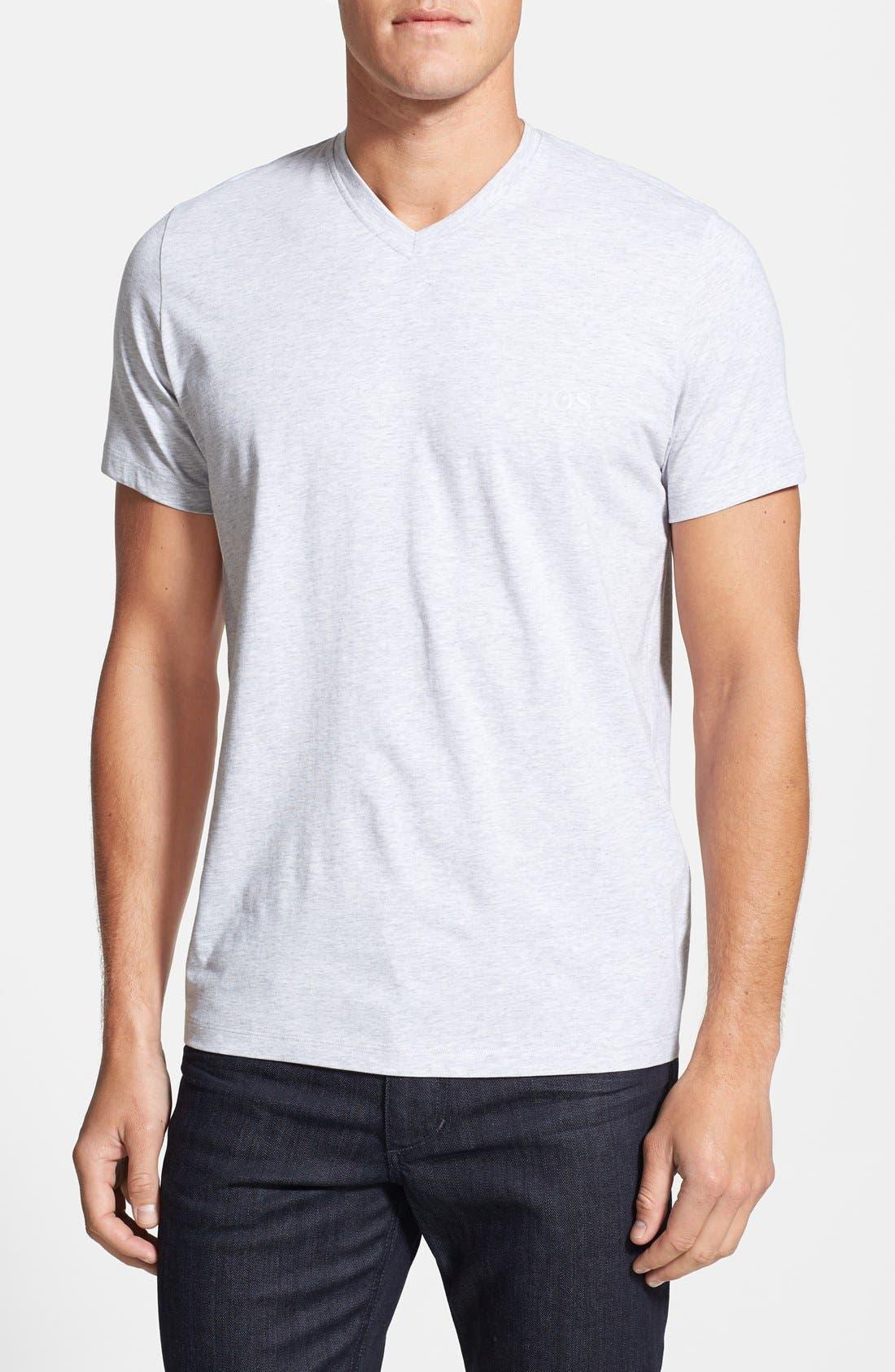 Alternate Image 1 Selected - BOSS HUGO BOSS 'Innovation 1' V-Neck T-Shirt
