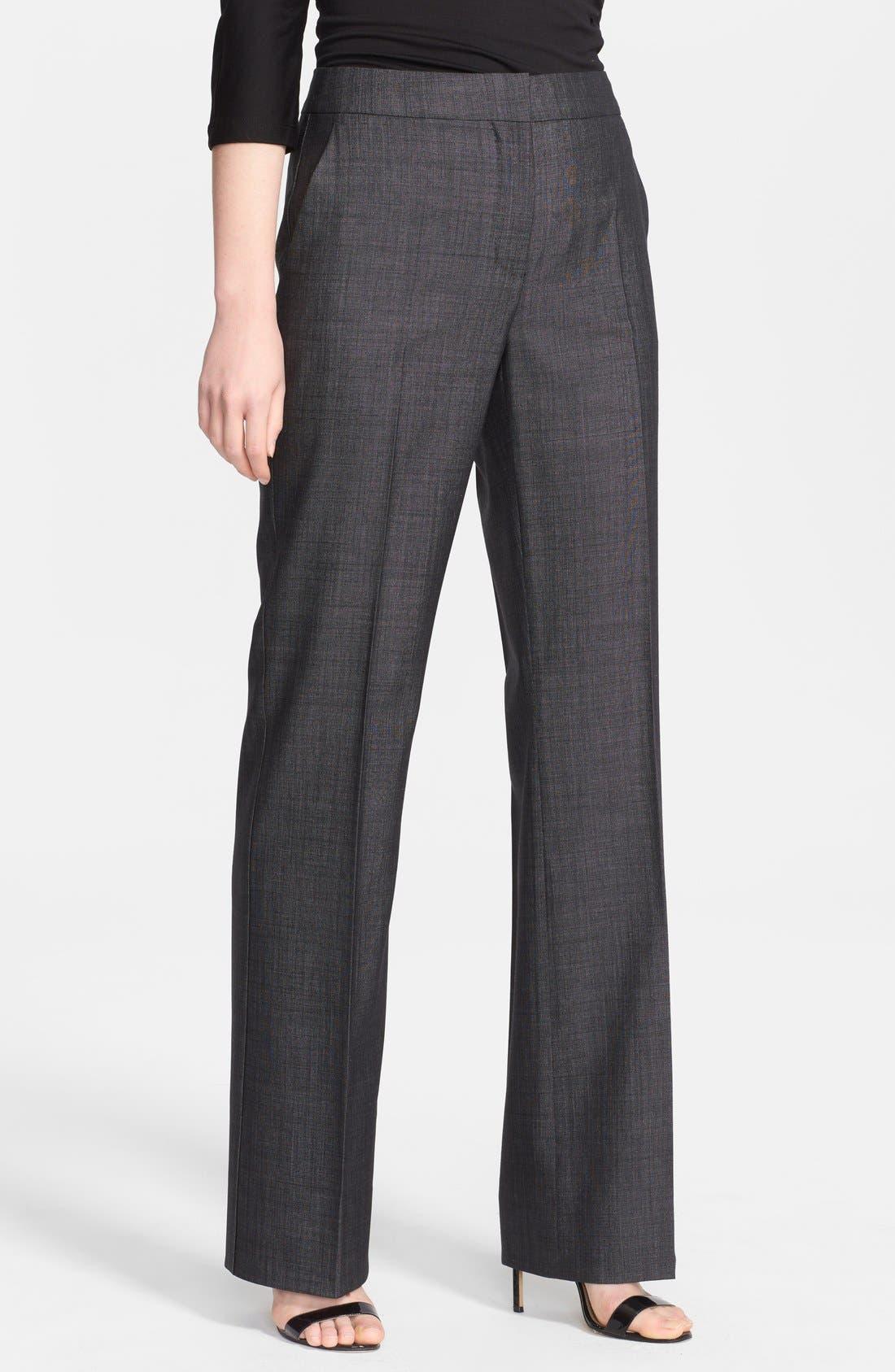 Alternate Image 1 Selected - Max Mara 'Allesia' Wool Blend Pants