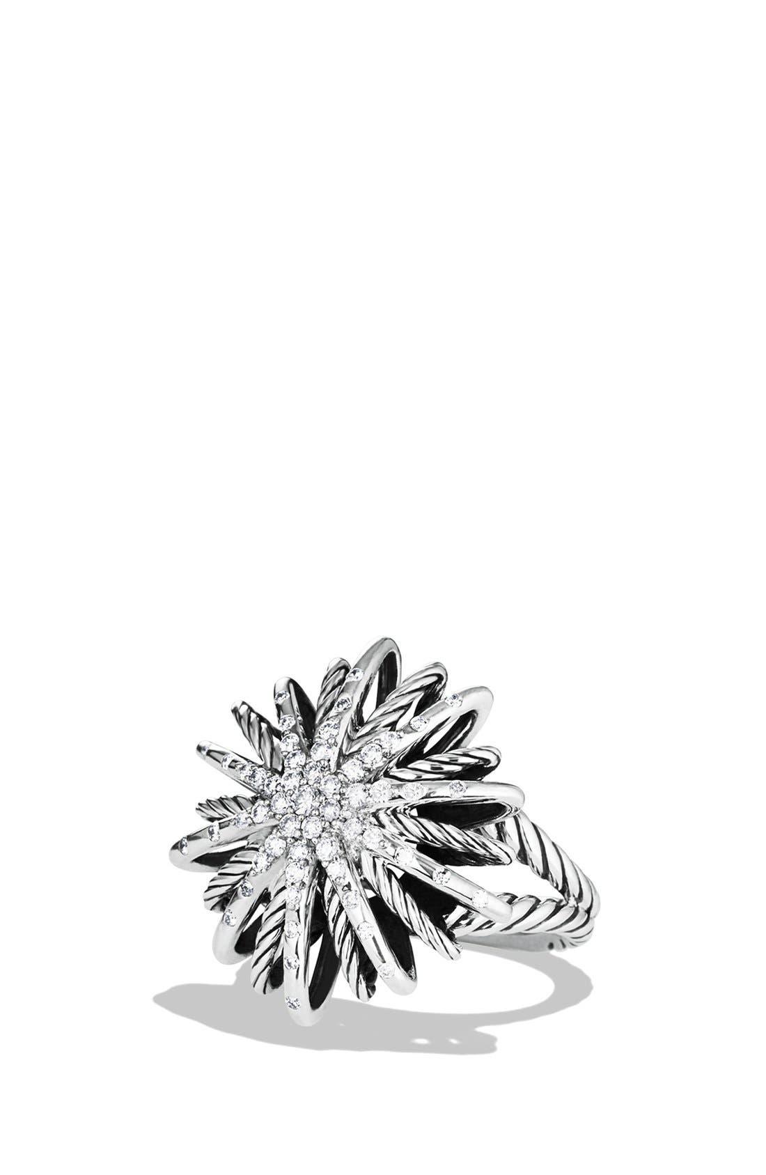 Alternate Image 1 Selected - David Yurman 'Starburst' Ring with Diamonds