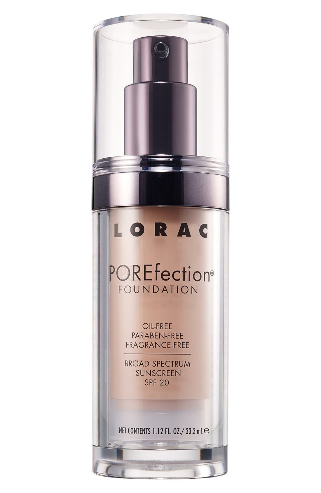 LORAC 'POREfection®' Foundation