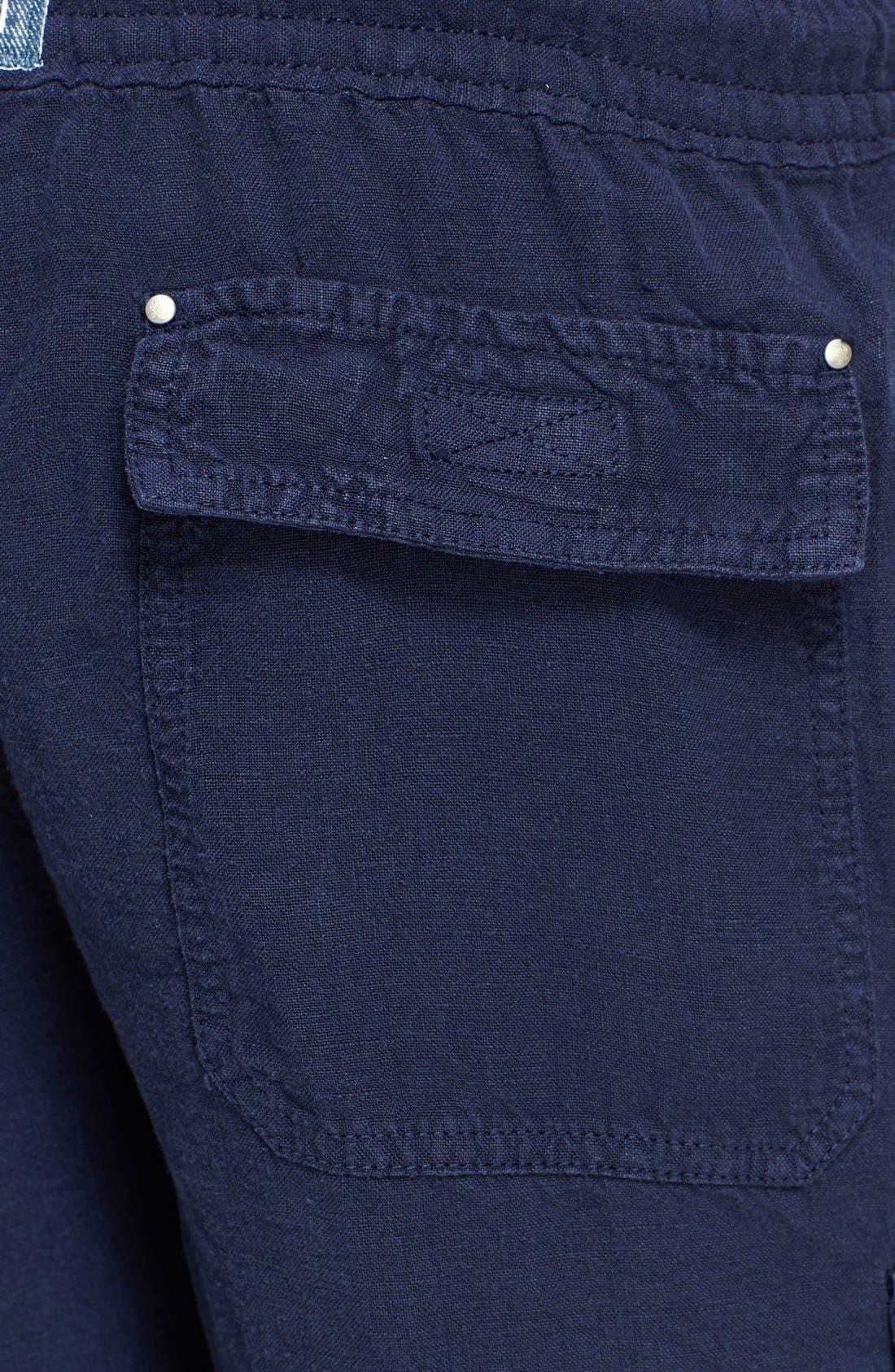Alternate Image 3  - Vilebrequin 'Baie' Linen Cargo Shorts