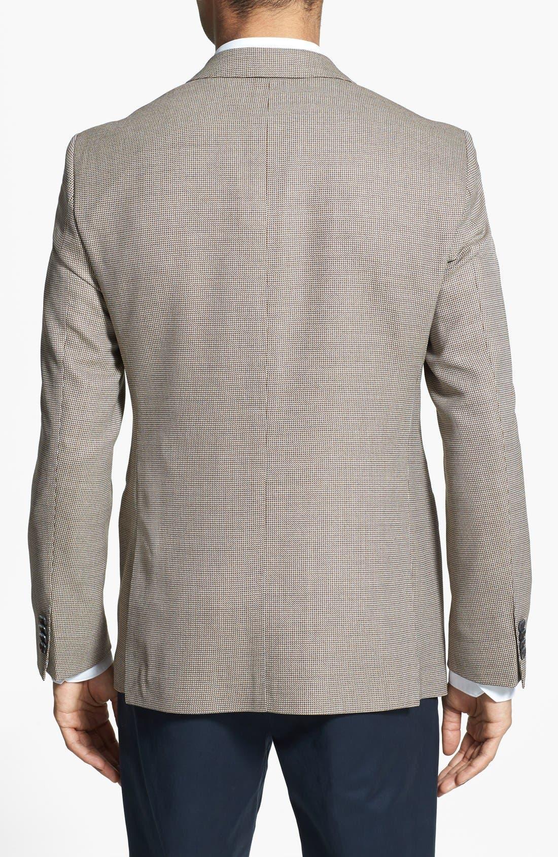 Alternate Image 2  - BOSS HUGO BOSS 'Jarrett' Trim Fit Wool Sportcoat