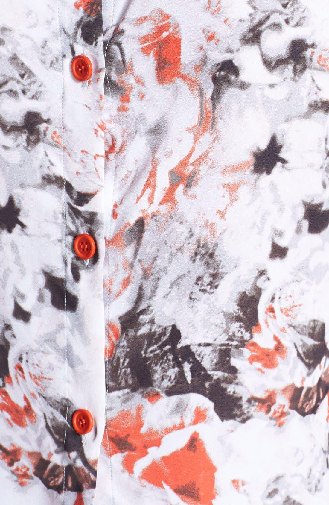 Alternate Image 3  - Tildon Button Back Crop Top