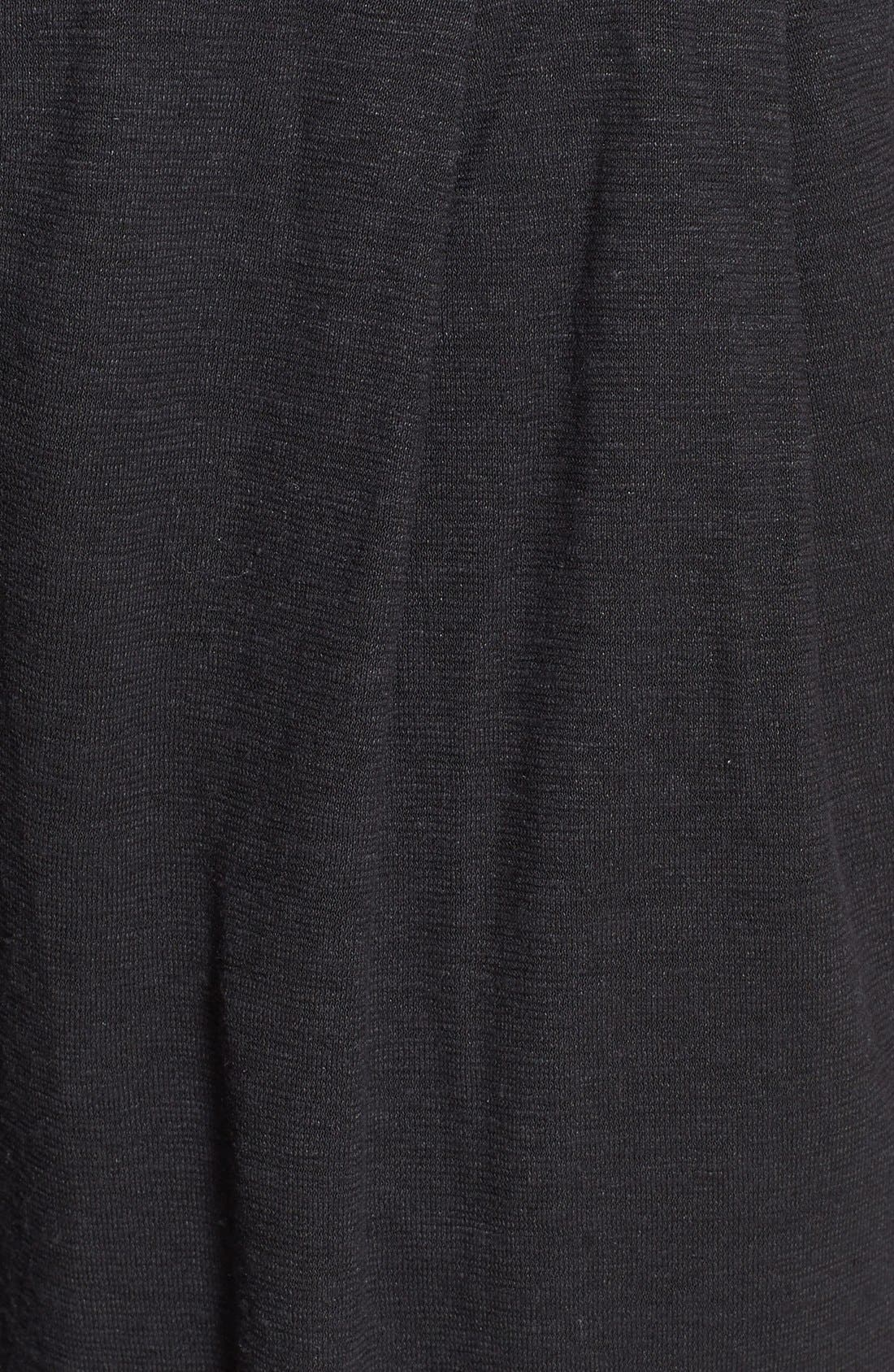 Alternate Image 3  - Eileen Fisher Pleat Front Knit Ankle Pants (Regular & Petite)