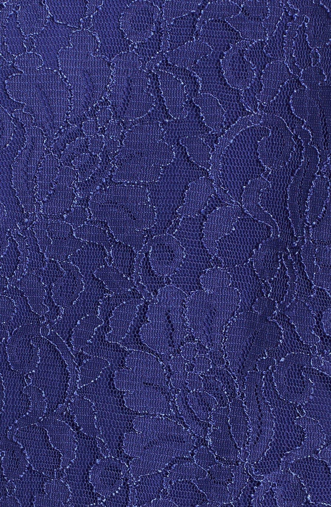 Alternate Image 3  - Alex Evenings Lace Twinset (Plus Size)