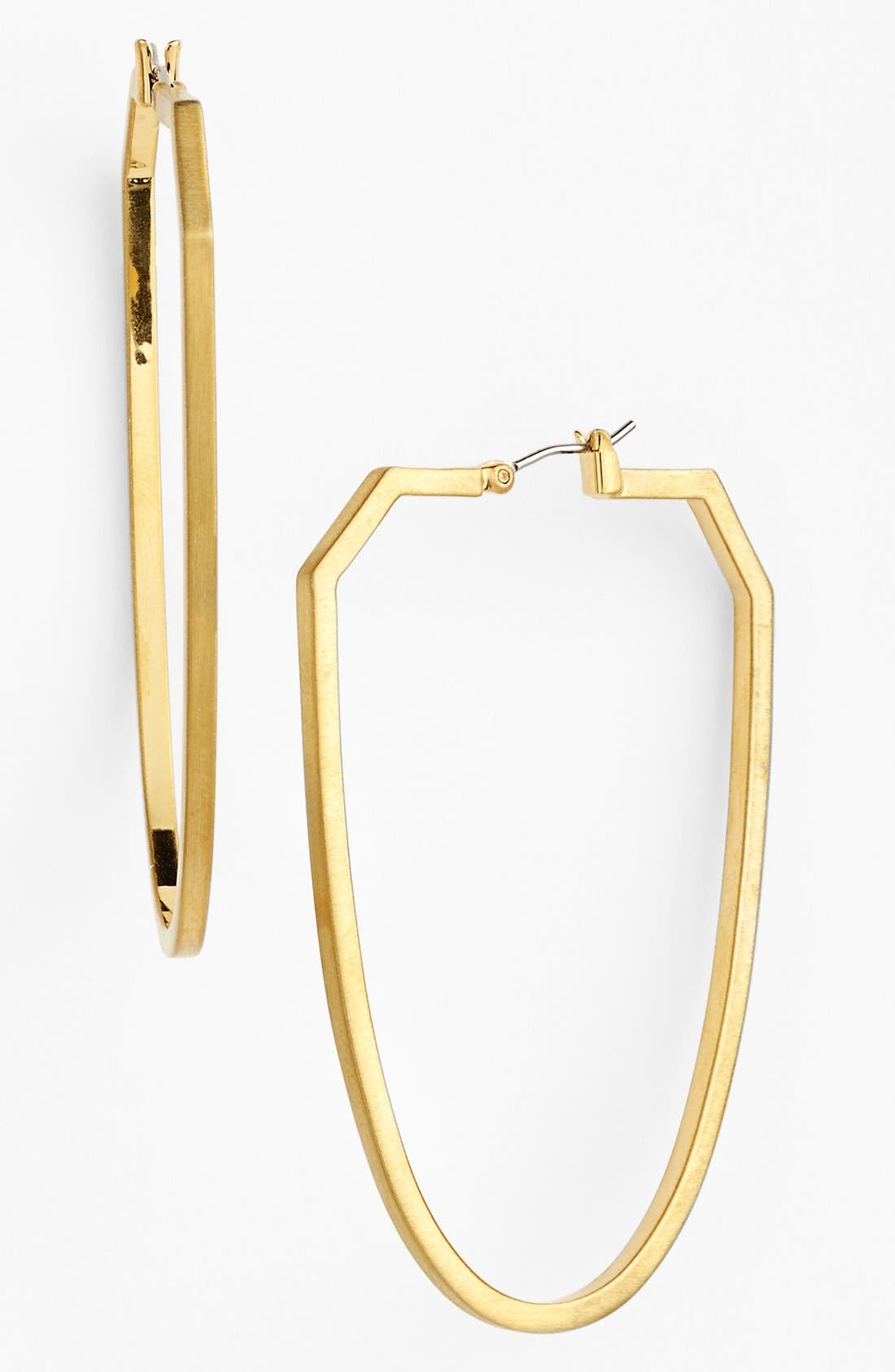 Alternate Image 1 Selected - Vince Camuto 'Ethereal Statement' Oblong Hoop Earrings