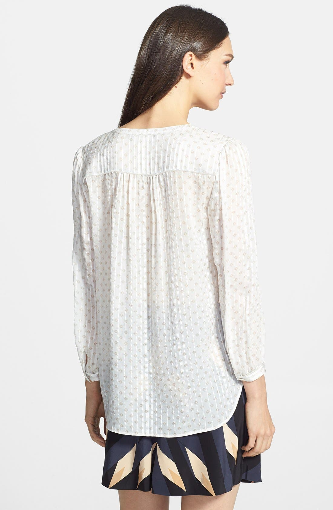Alternate Image 2  - MARC BY MARC JACOBS 'Mini Diamond' Crinkle Silk Top