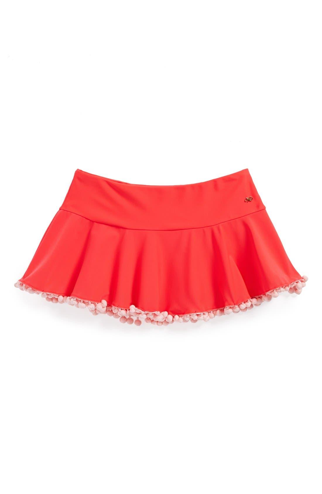 Alternate Image 1 Selected - PilyQ Cover-Up Skirt (Little Girls & Big Girls)