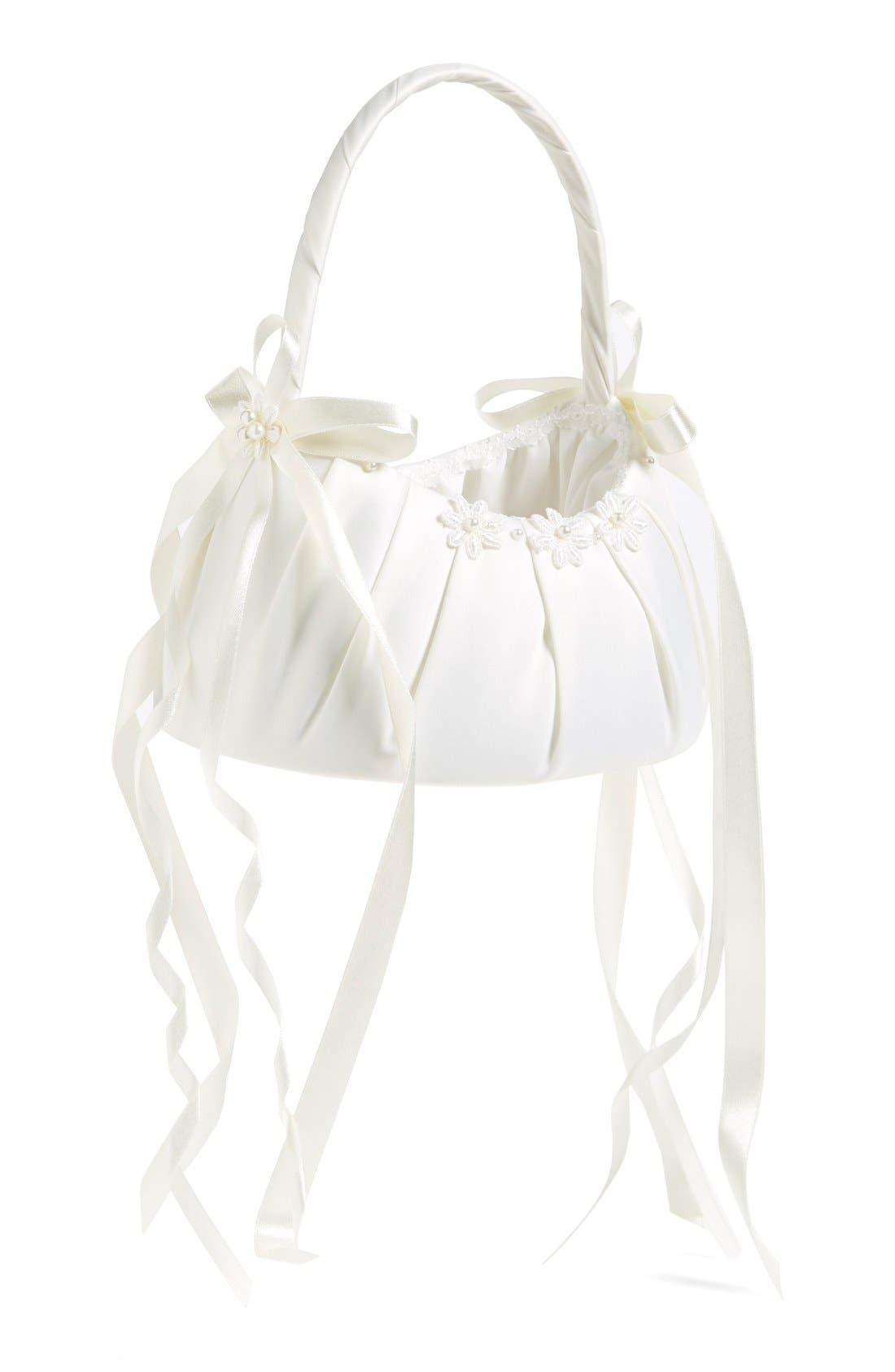 Alternate Image 1 Selected - Wedding Belles New York Communion Basket (Girls)