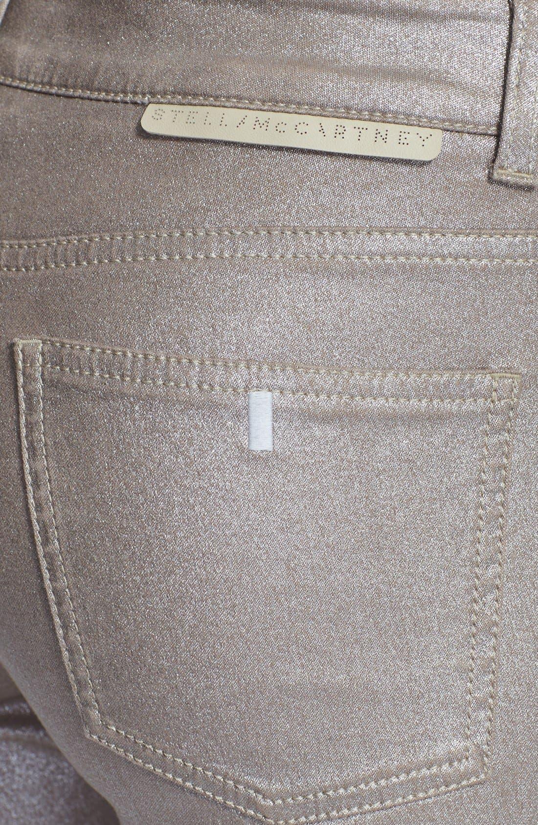 Alternate Image 3  - Stella McCartney Coated Skinny Ankle Jeans