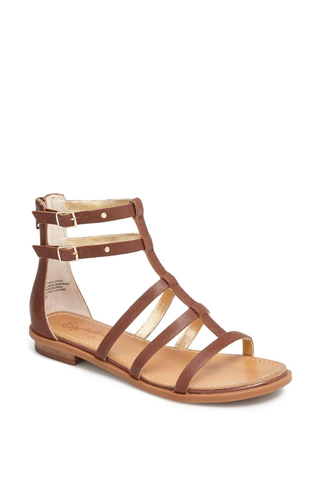 Alternate Image 1 Selected - Seychelles 'Aim High' Gladiator Sandal