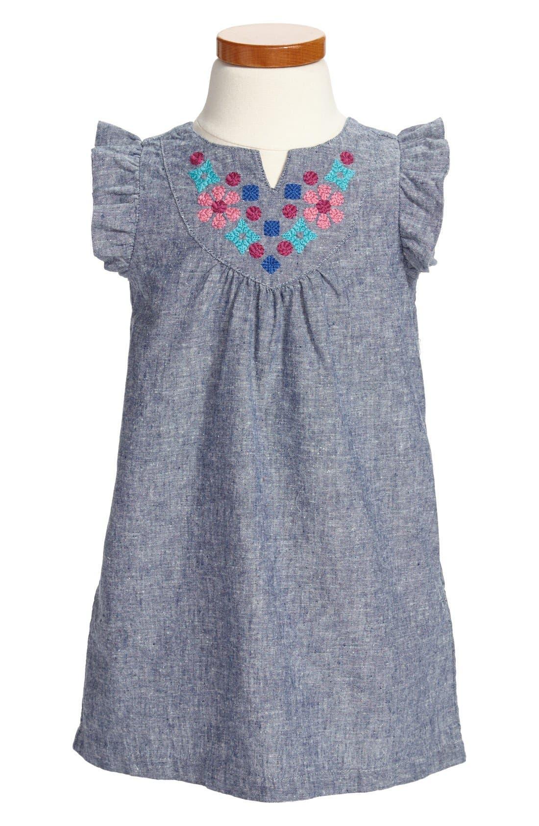 Main Image - Tea Collection 'Zidana' Dress (Little Girls & Big Girls)