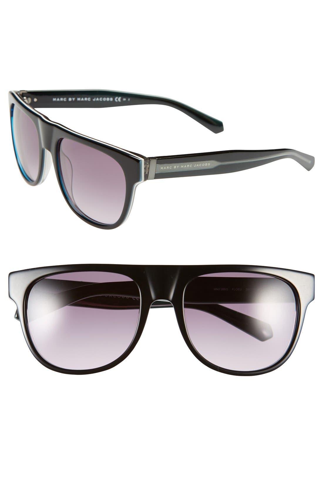 Main Image - Marc by Marc Jacobs 55mm Sunglasses