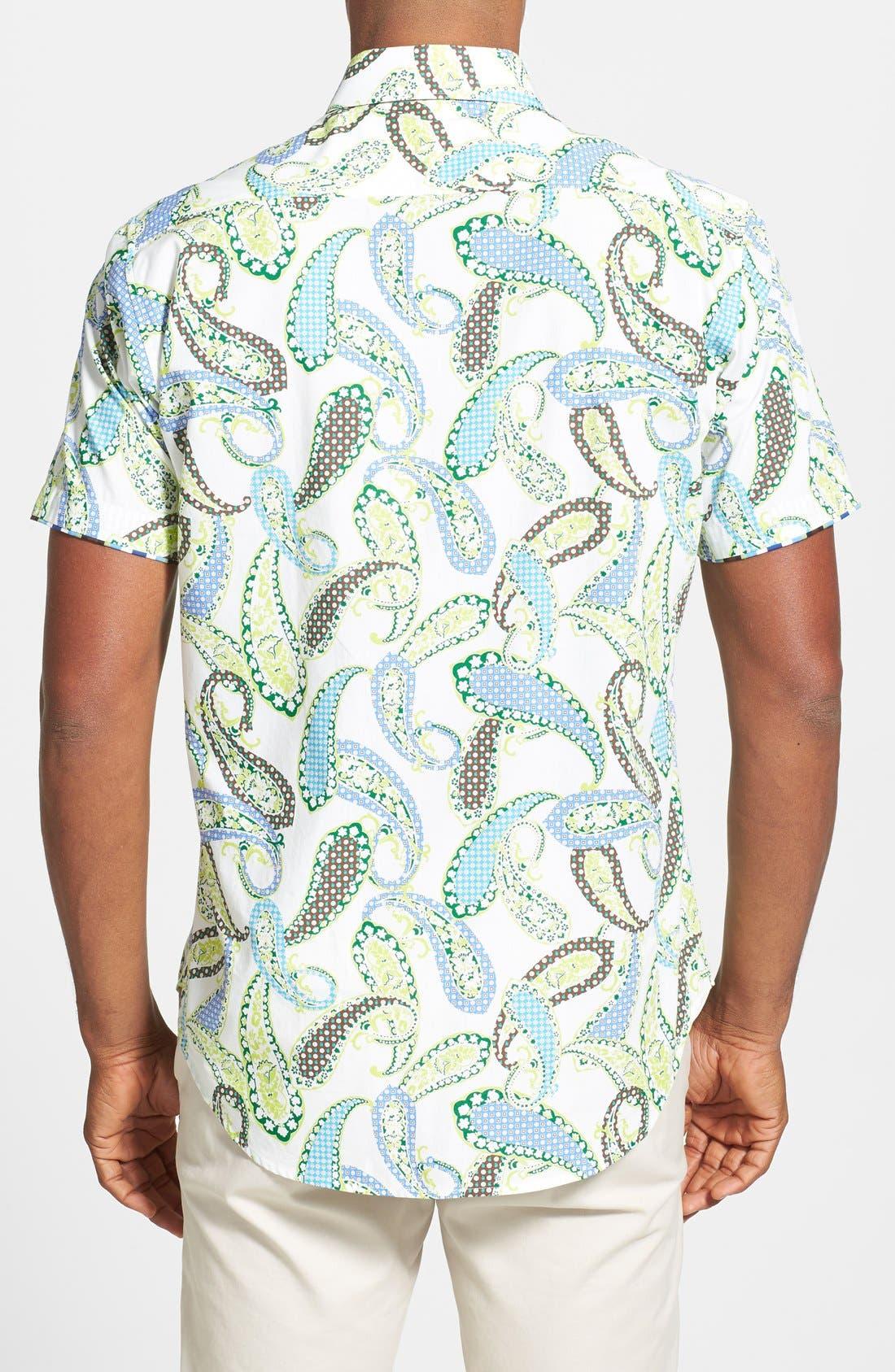 Alternate Image 2  - Robert Graham 'Tomaso' Short Sleeve Paisley Sport Shirt