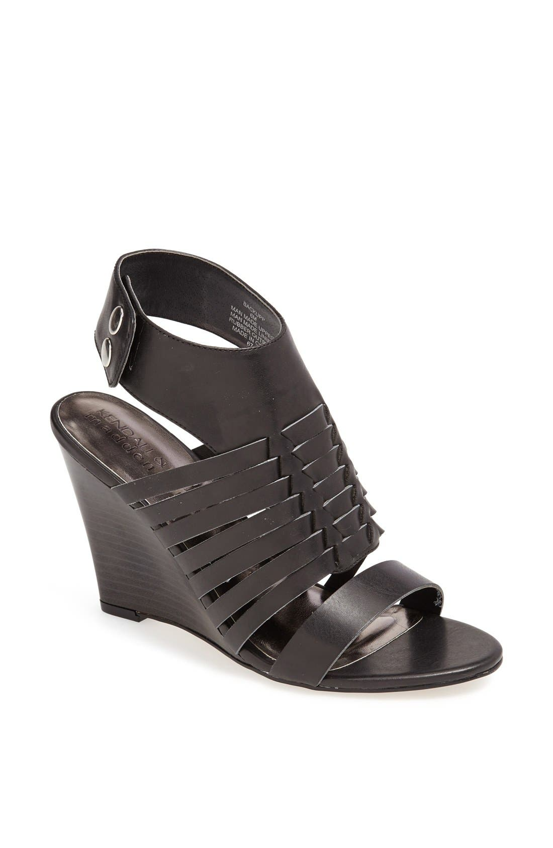 Alternate Image 1 Selected - KENDALL + KYLIE Madden Girl 'Backupp' Ankle Cuff Sandal