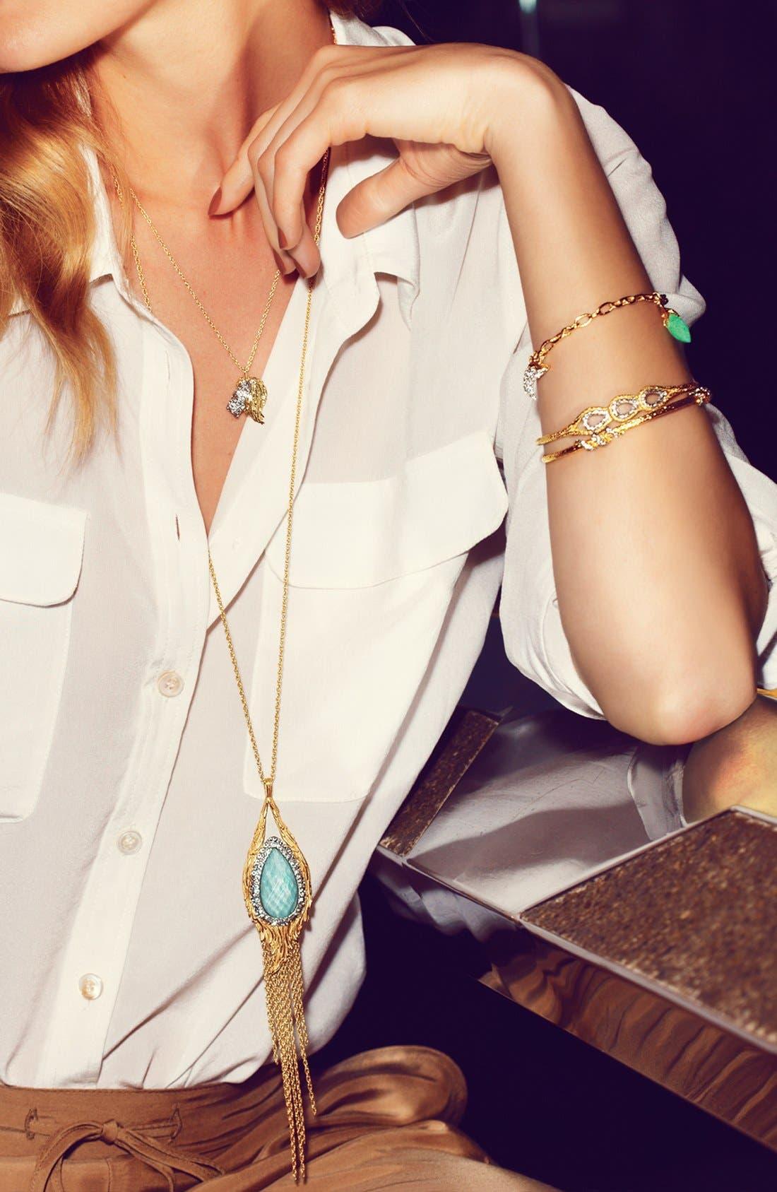 Alternate Image 4  - Alexis Bittar 'Elements - Maldivian' Long Tassel Pendant Necklace