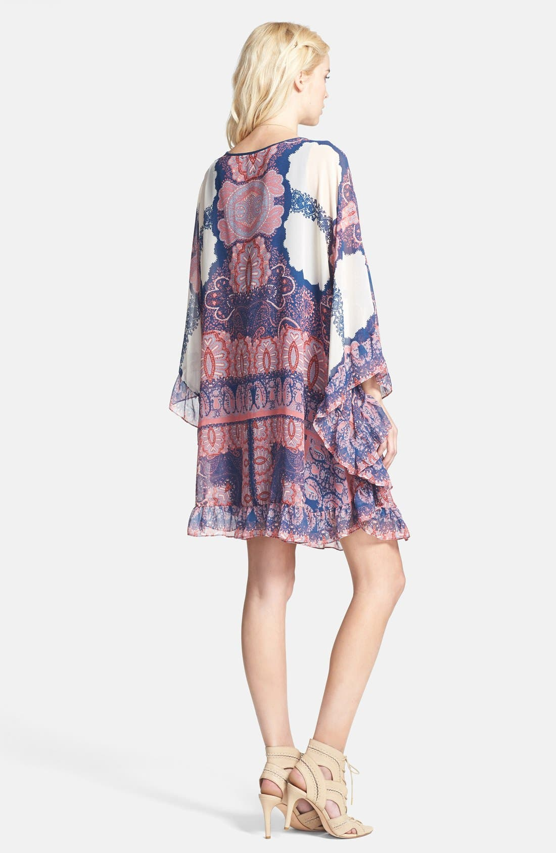 Alternate Image 2  - Free People 'Marla' Print Shift Dress