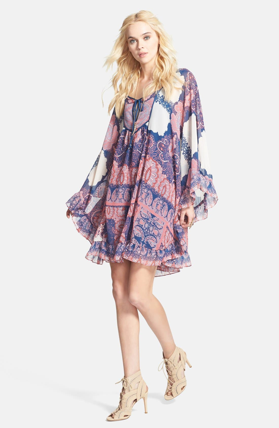 Alternate Image 3  - Free People 'Marla' Print Shift Dress