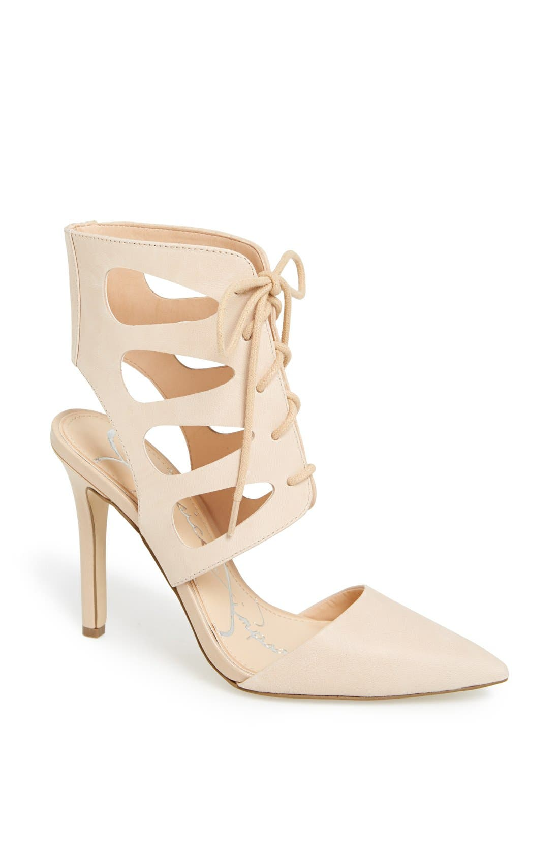 Alternate Image 1 Selected - Jessica Simpson 'Cecerre' Caged Pointy Toe Pump