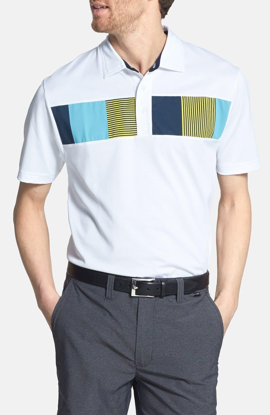 Alternate Image 1 Selected - Travis Mathew 'Ambrosio' Trim Fit Golf Polo