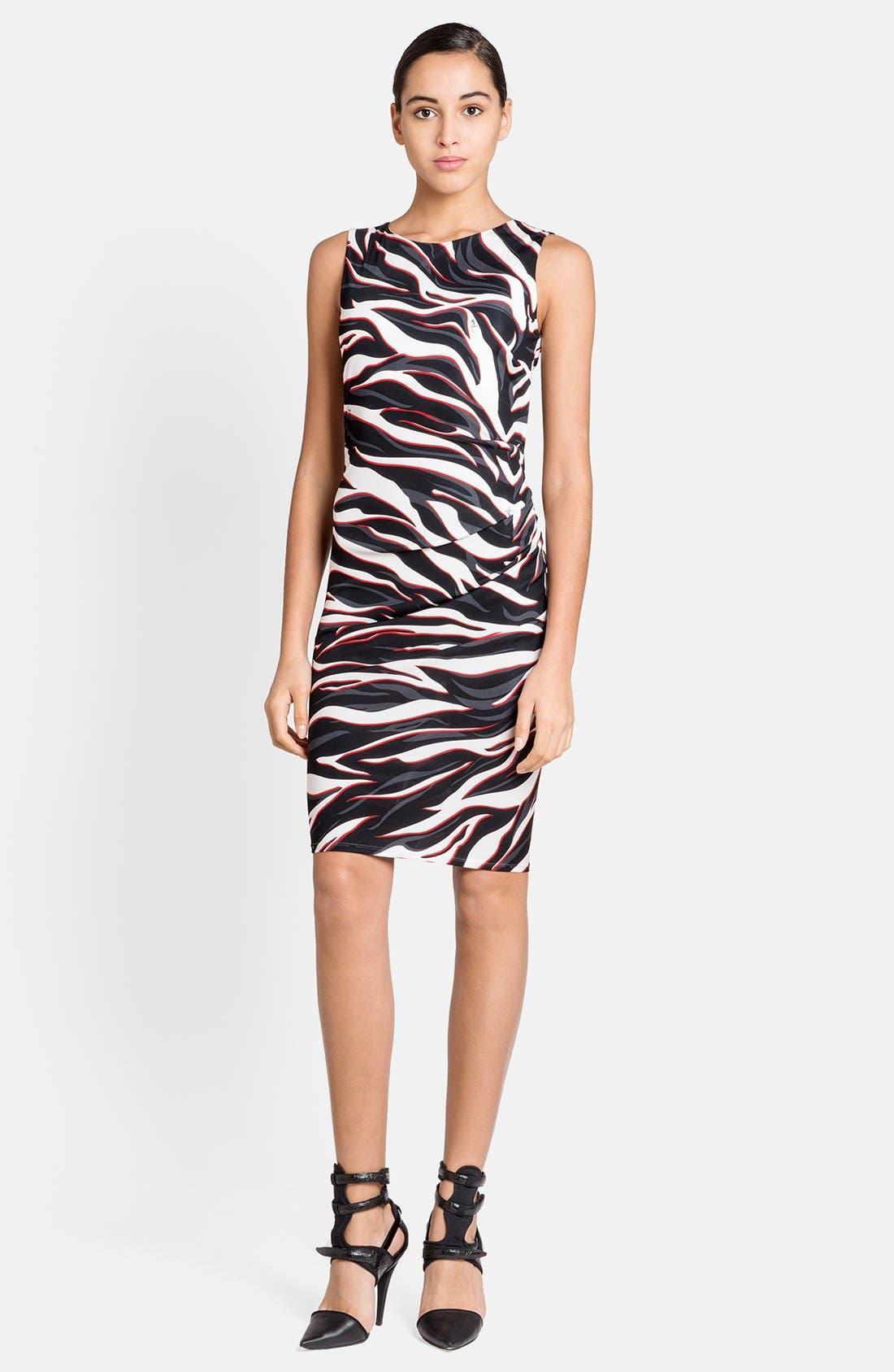 Main Image - Emilio Pucci Zebra Print Dress