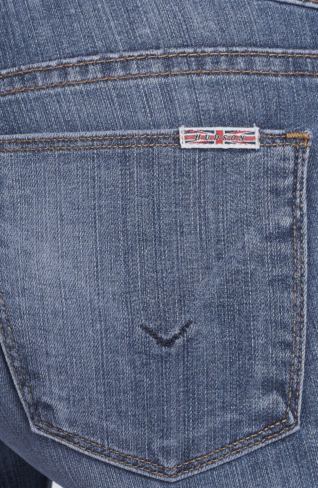 Alternate Image 3  - Hudson Jeans 'Krista' Super Skinny Jeans (Floyd 2)