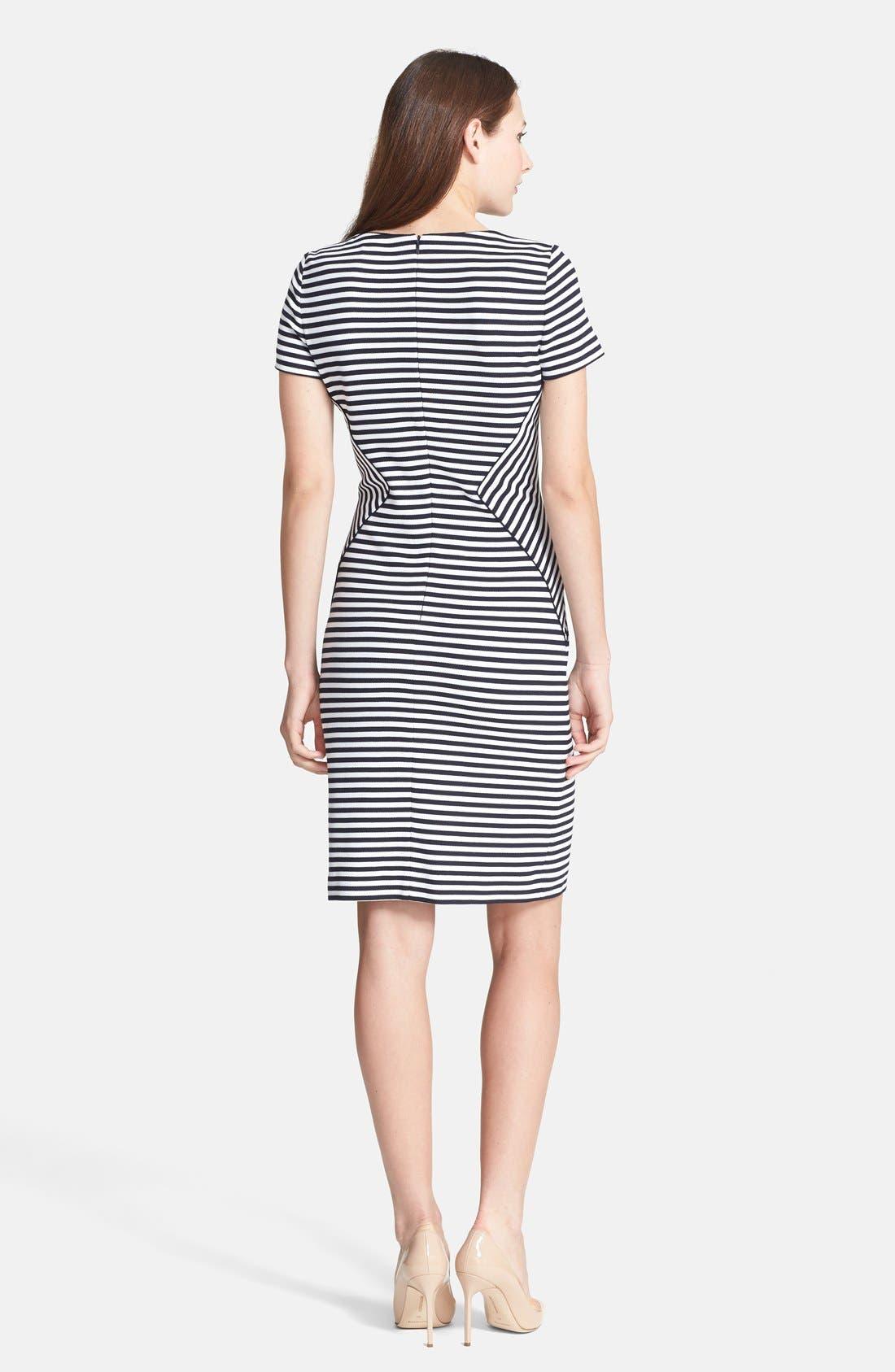 Alternate Image 2  - BOSS HUGO BOSS 'Hattina' Stripe Dress