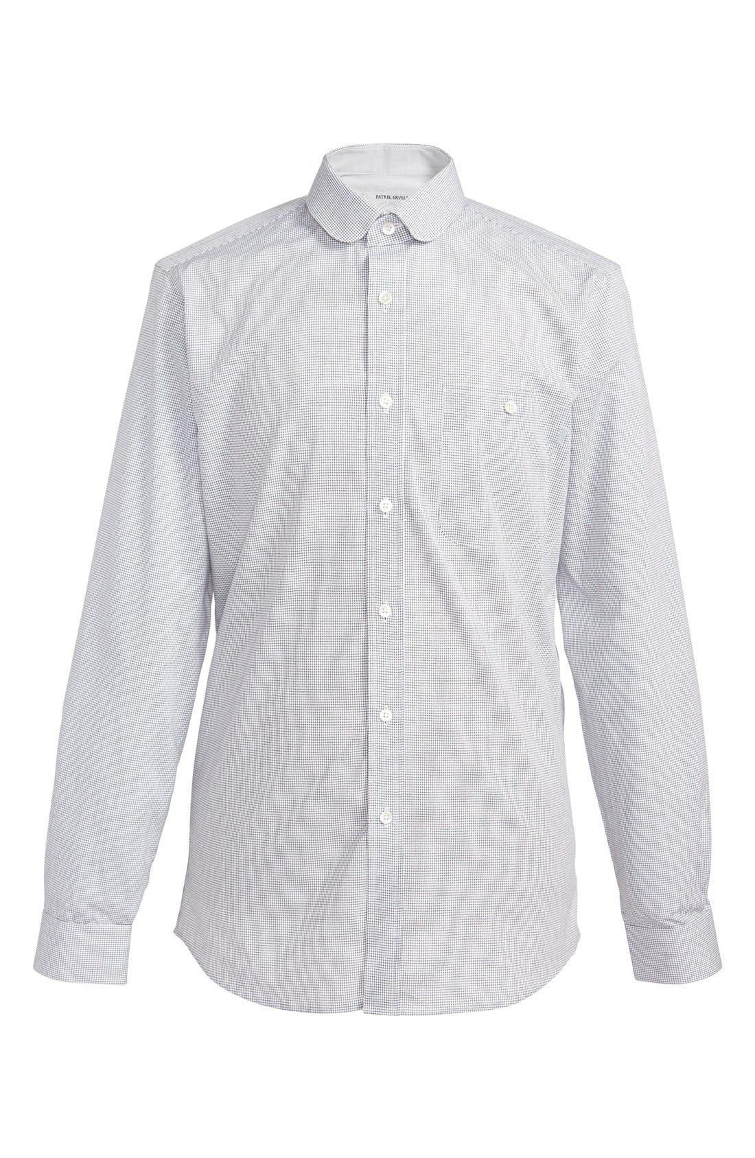 Alternate Image 2  - Patrik Ervell Mini Check Woven Shirt