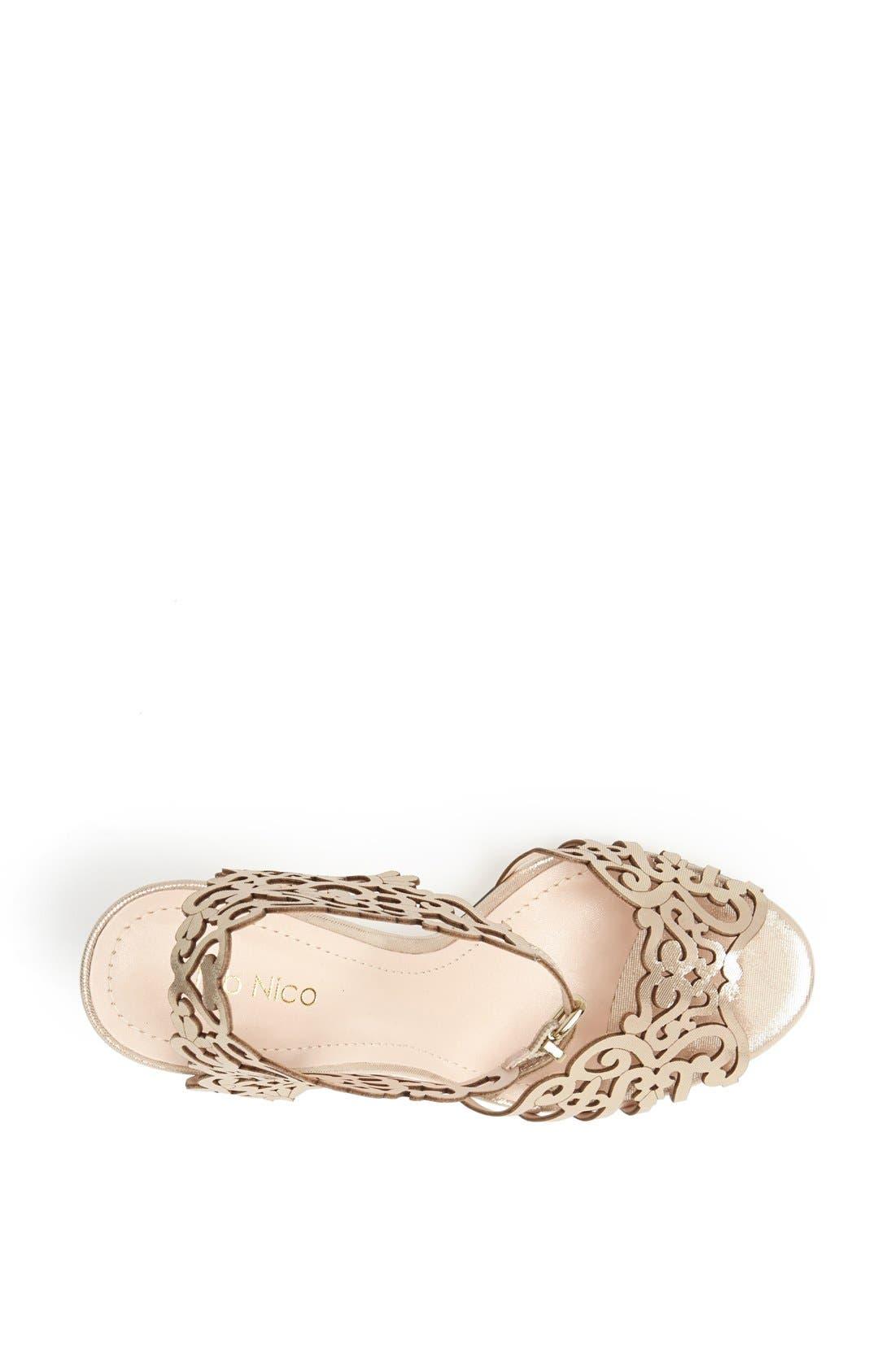 Alternate Image 3  - Klub Nico 'Moxie' Laser Cutout Sandal (Women)