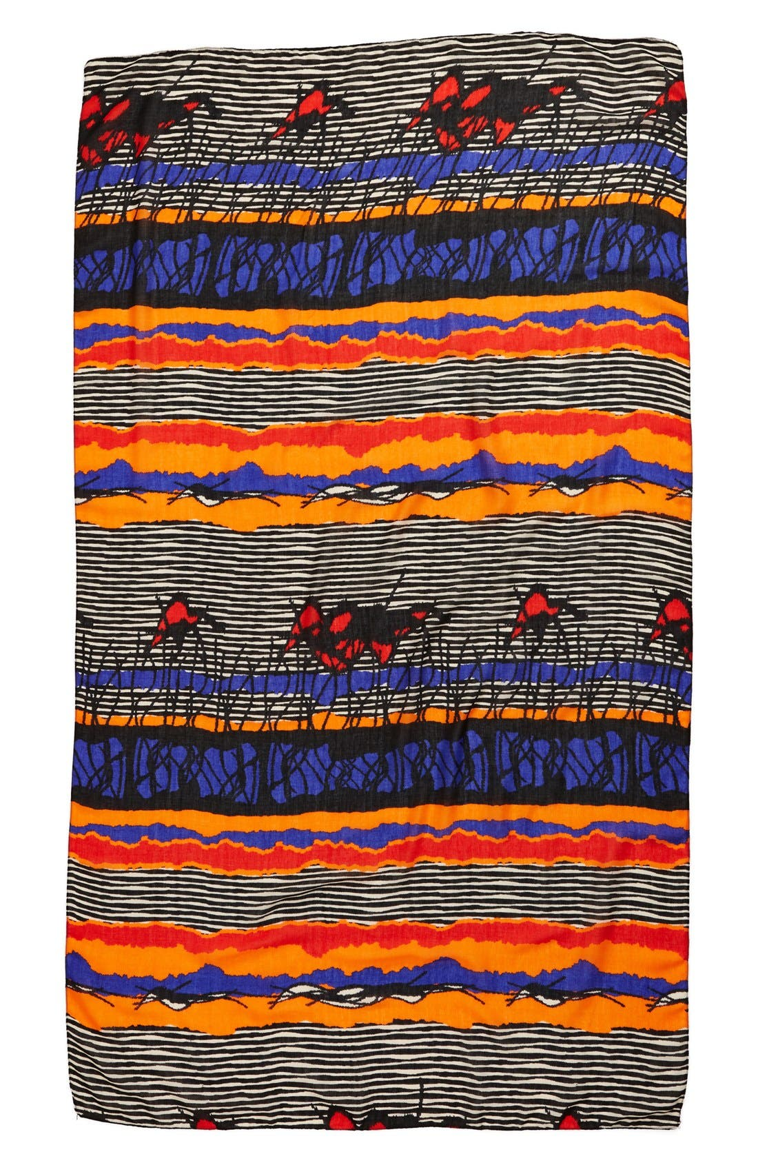 Alternate Image 2  - Leith 'Abstract Safari' Oversized Oblong Scarf