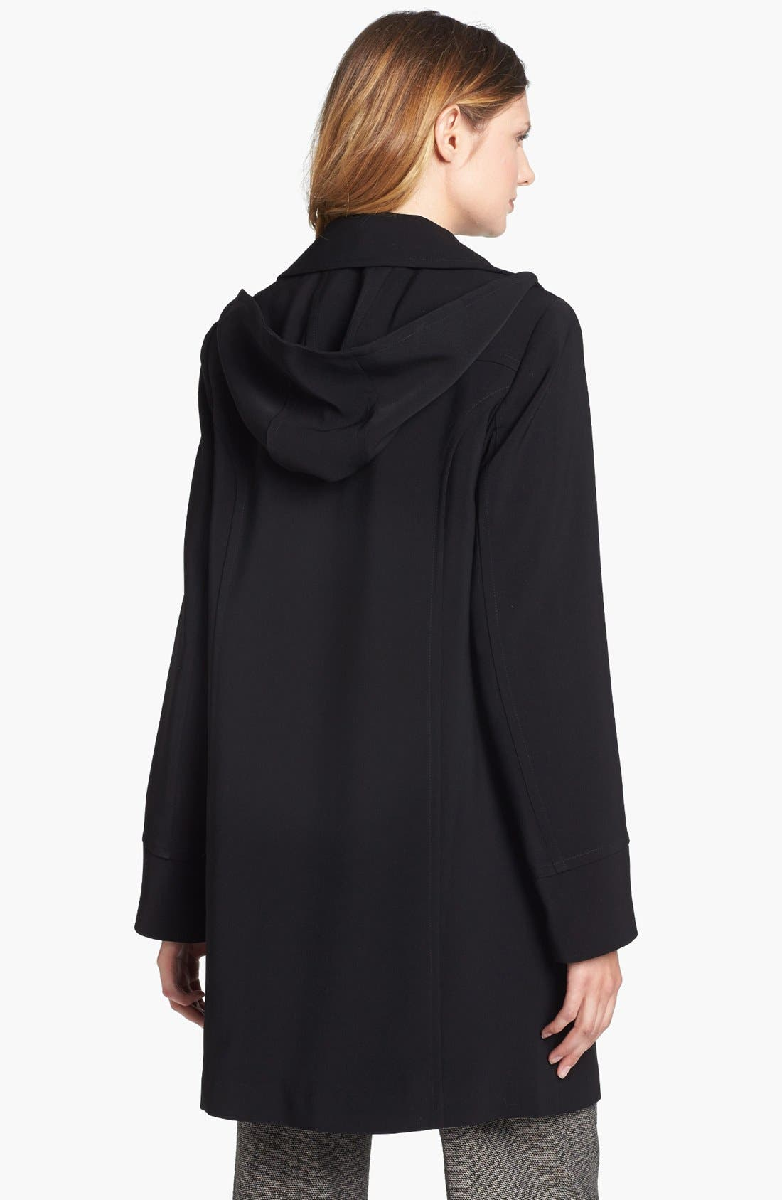 Alternate Image 2  - Gallery 'Nepage' Coat with Detachable Hood & Liner (Petite) (Online Only)