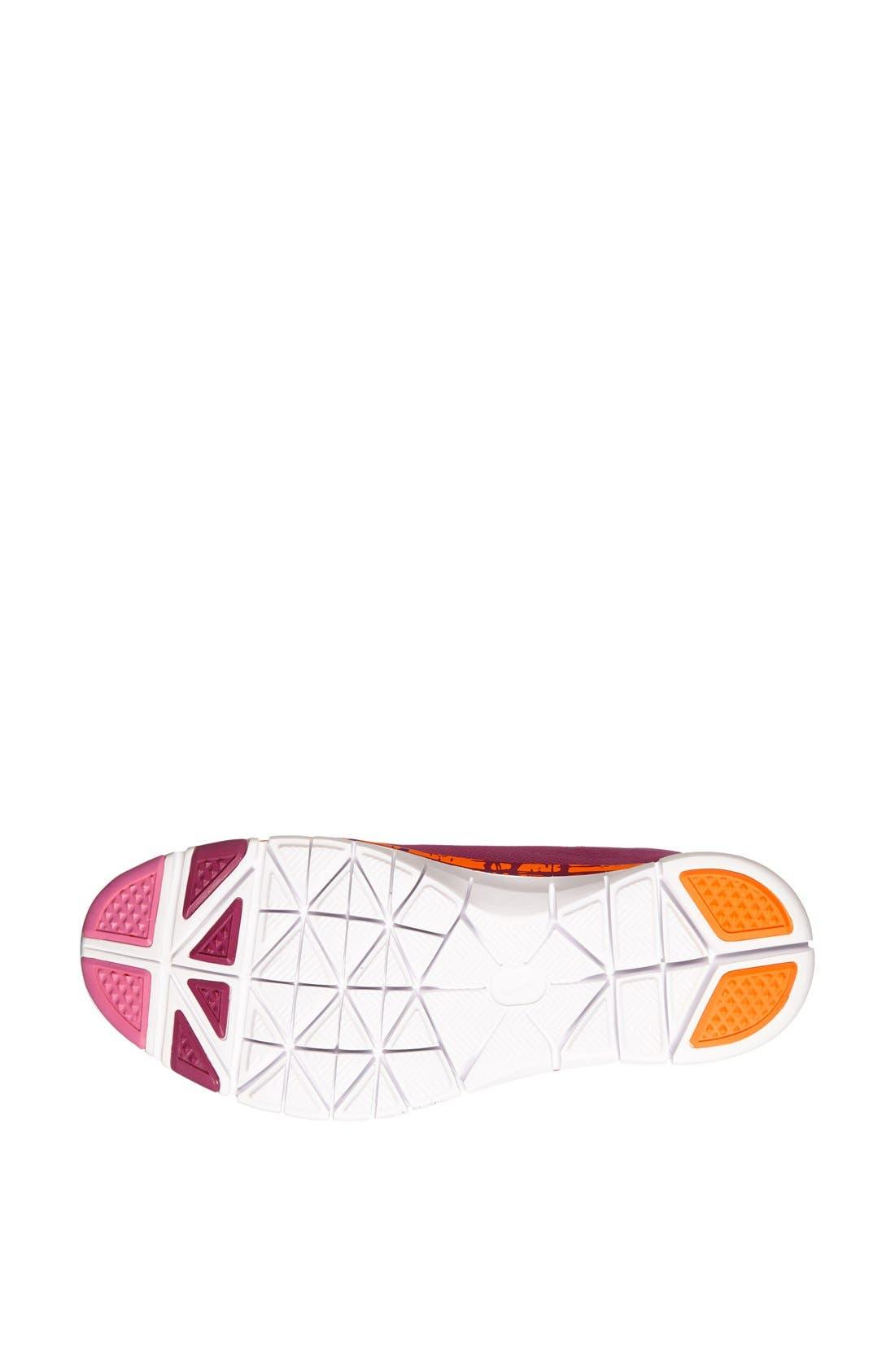 Alternate Image 4  - Nike 'Free 5.0 TR Fit 4' Print Training Shoe (Women)