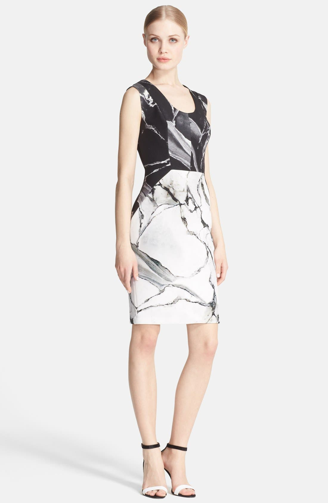 Main Image - Robert Rodriguez 'Carrara' Print Sheath Dress