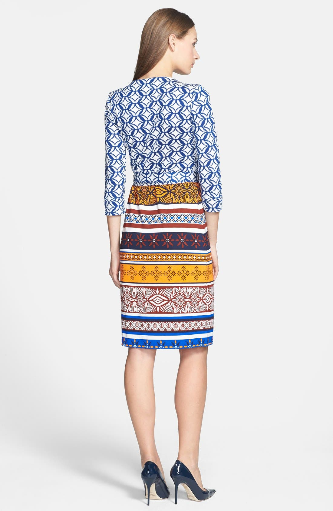 Alternate Image 2  - Diane von Furstenberg 'New Julian 2 - Desert Band' Silk Jersey Wrap Dress